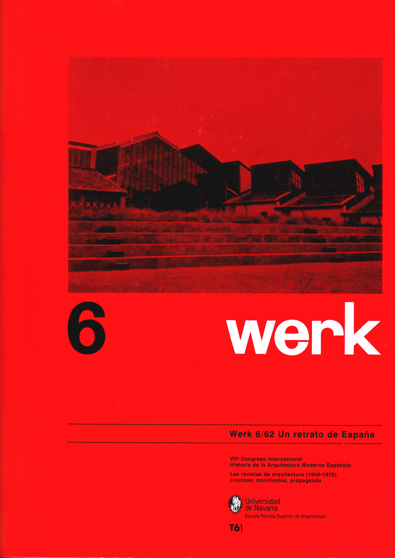 werk - 6/62 Un Retrato de España Spanish reissue of werk magazine (June 1962) by Universidad de Navarra