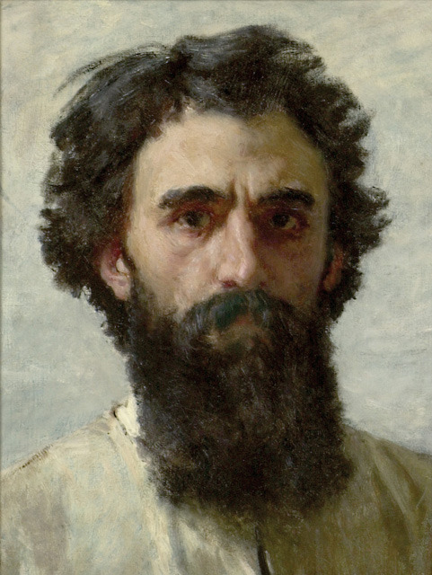 Self-Portrait By Domenico Morelli, 19th Century