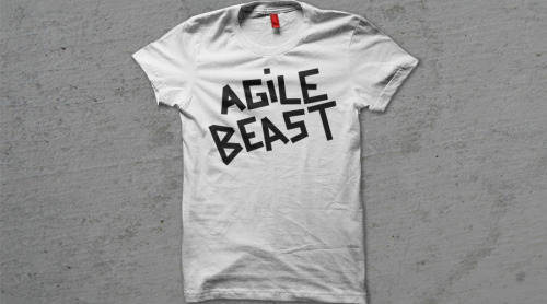 SALE! The Agile Beast tee has been discounted for a limited time only so grab it while you can!
