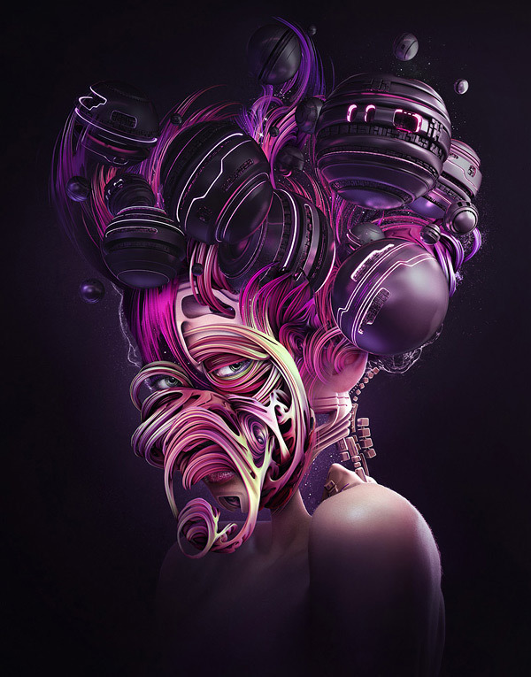 Digital art selected for the Daily Inspiration #1230