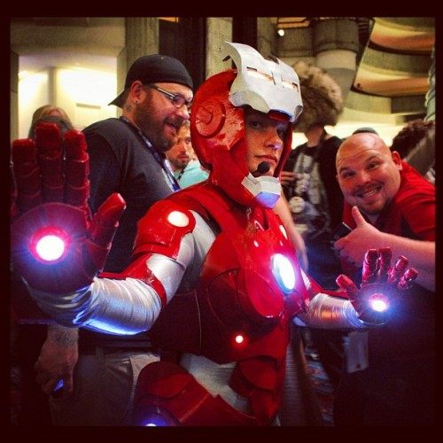 Rescue! #ironman #marvel #dragoncon #rescue (Taken with Instagram)