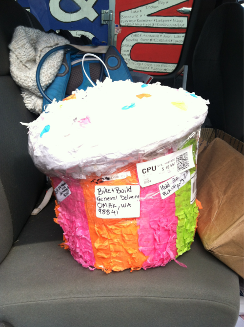 Our mystery piñata