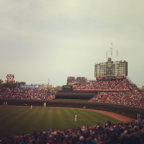 Taken with Instagram at Wrigley Field