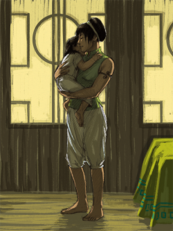characterundefined:  Momma Toph I was just burning to color this one.