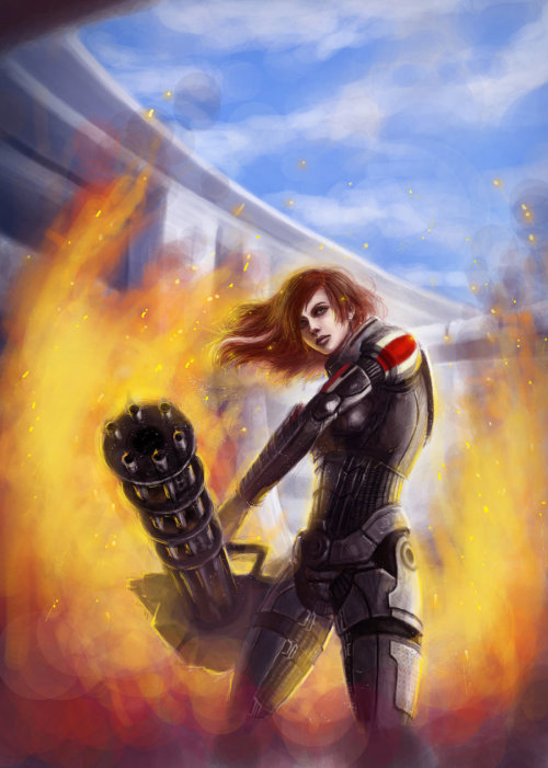 mar-er:  Jane Shepard by AlizaMalice