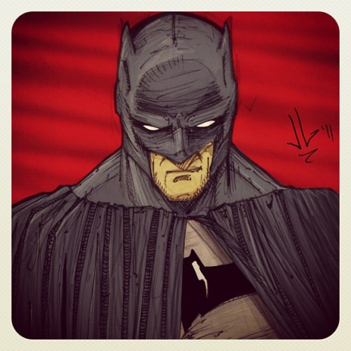 jgonzalez-art:  The Batman #dc #batman #Bruce #thebatman #thedarkknight #justice # justiceleague @GregCapullo (Taken with Instagram)  Sweet Batman - www.comicbookquest.com