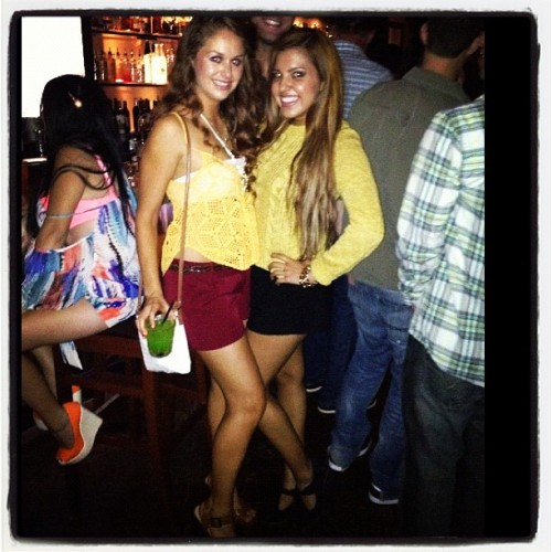 Girls night out with my 🐞@laniecoelho ❤ #downtown #drinks #hot #girls  (Taken with Instagram)