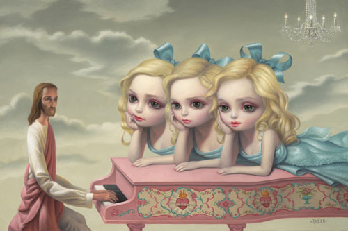 The Piano Player (2010) by Mark Ryden