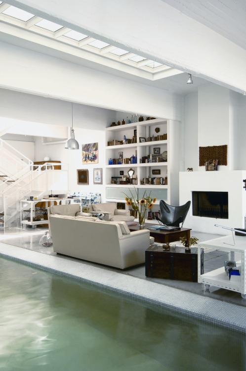 justthedesign:  Indoor Pool House