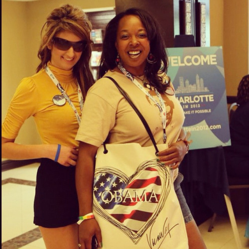 Our delegates love Barack Obama!
