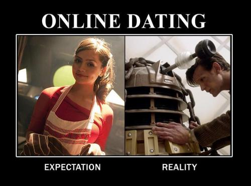 doctorwho:  Expectation. Reality.  So true! Ha!