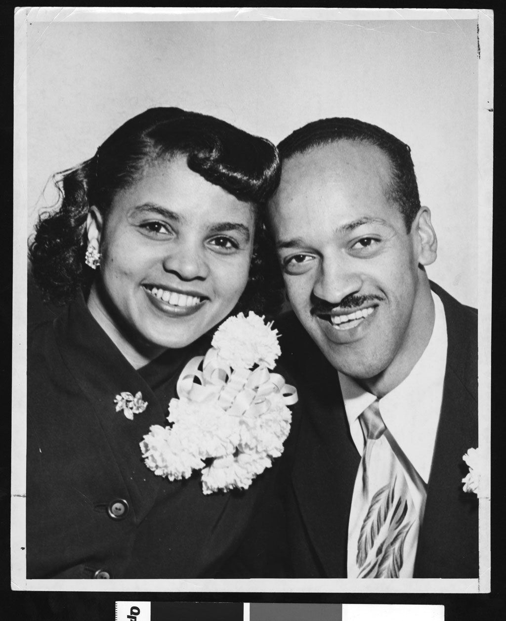 Portrait of Rosemary Goode & Lewis Hudson, Los Angeles, circa 1951-1960. Via USC Libraries.