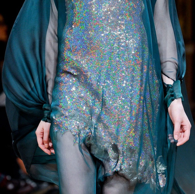 Mermaid New Year 2013  monsieur-j: Talbot Runhof Fall 2012 Runway Details
