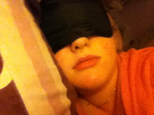 I love to sleep especially with this mask over my eyes blocks the light off even better lol :) rely love sleeping when i get a chance to. It repairs ur nerve endings and Alison u loss wright when u sleep lol :) anyone else out there loving there zzzzzzz's