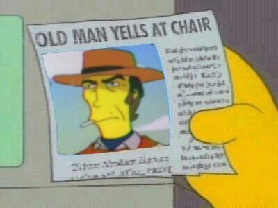 gravitazero:  laureola:.  old man yells at chair (via catastrofe)