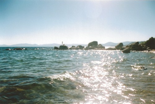 Yall know how I like them sparkly water photos I almost died on those rocks right there LAKE TAHOE FUN SUMMER 12 20 2012