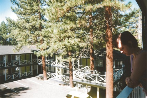 This is the charming little hotel we stayed at in Tahoe. If you remember back to when I posted that photo with the hotel room with the bunk beds…THIS IS IT!  It JUST opened this summer and I highly recommend it. It's cool as fuck and has a great lobby/outdoor area to hang with a firepit and a rooftop hottub it's called Basecamp Hotel! Basecamphotels.com git it