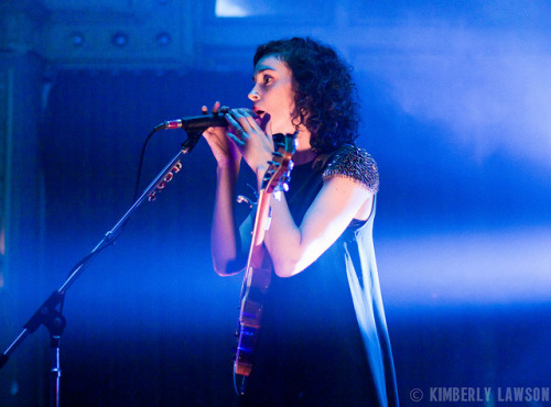 St. Vincent's Annie Clark on Flickr.