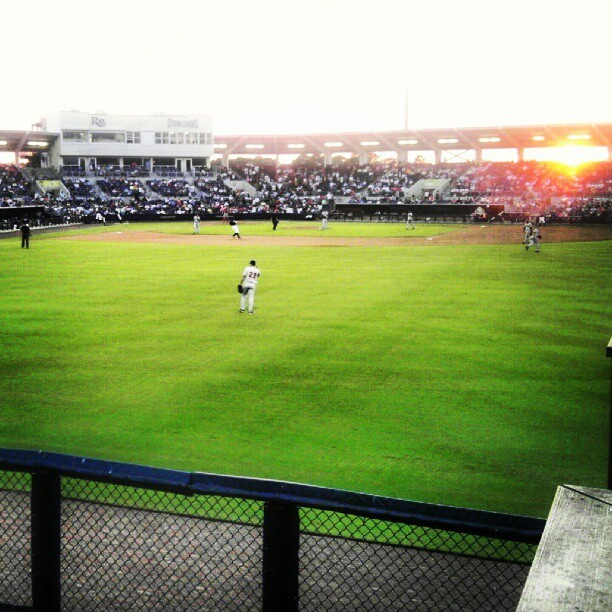 Charlotte Sports Park #sunset #stonecrabs #baseball (Taken with Instagram)