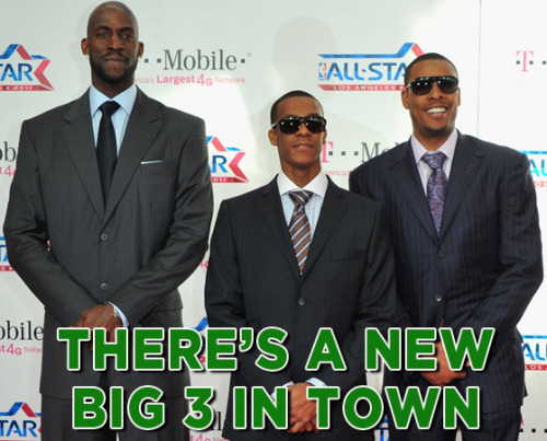 OUR NEW BIG 3