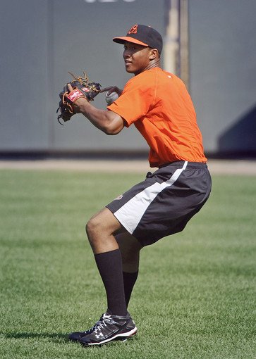 thefacesofbaseball:  Jonathan Schoop of the Bowie Baysox