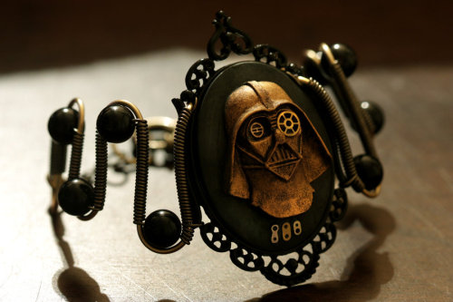 Steampunk Darth Vader Bracelet by *CatherinetteRings