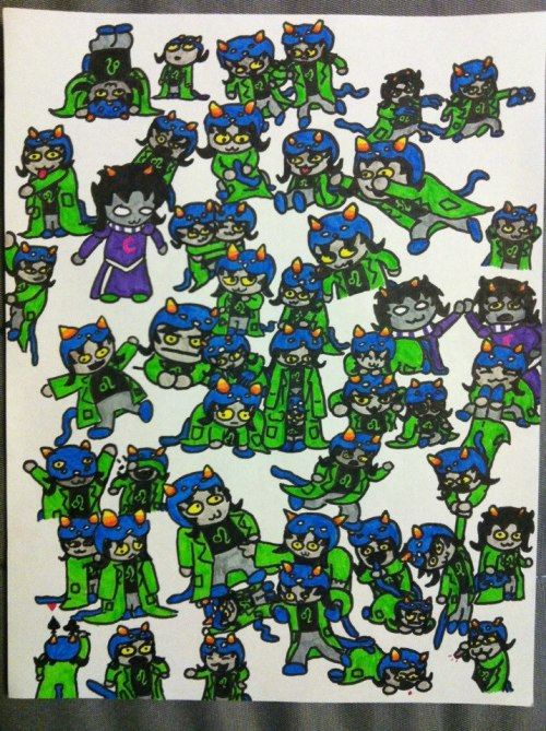 """This is my 50 Nepeta challenge. Took me about 14 hours to do but I broke it up over a couple days so it was a lot of fun. I highly recommend this challenge to anyone considering trying it!"" - Statewee   Truly these are words to live by. Thank you for completing the 50 Nepeta Challenge!"