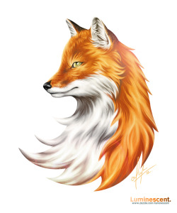 Magic Fox - See it on DeviantART / See the Print / See the T-Shirt