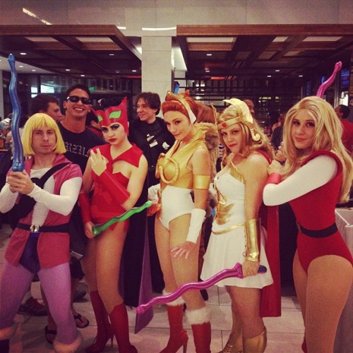 She-Ra!!! #ilovethe80s #dragoncon #dragoncon2012 #cosplay  (Taken with Instagram at Atlanta)