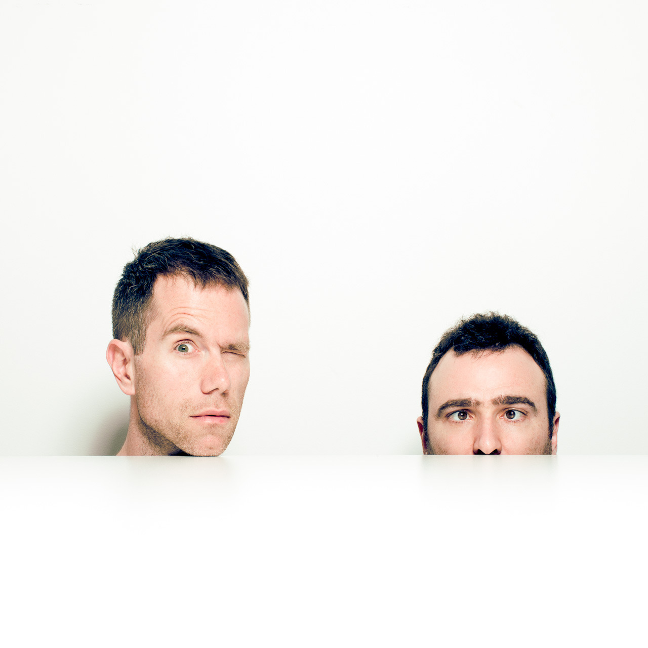 The Presets shot at Modular HQ for Time Out Sydney, to co-incide with the launch of their new record Pacifica.
