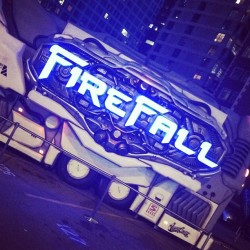 Crazy FireFall bus at #PAX
