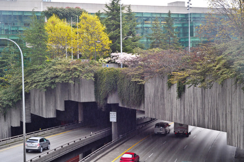 "studio630:  3 Projects That Transform Highways Into Urban Oases The phrase ""the other side of the tracks,"" connoting declining neighborhoods across from railroad lines, could easily translate to the community havoc wreaked by urban interstates. Noise, pollution, and walls of concrete can be more than a little off-putting. But new projects in cities around the world prove that freeways don't necessarily have to be urban dead zones.   In places like San Francisco and Oakland, where earthquakes led to the replacement of several freeway stretches, interstates have been redesigned and upgraded into walkable, pleasant spaces. Other innovative approaches are showing how to transform the right-of-way land, overpasses, and adjacent spaces to be visually attractive assets—and even raise property values as businesses and residents move closer and begin to look at their infrastructure more favorably. In Seattle, Freeway Park includes space on both sides of I-5 and a green-covered pedestrian overpass connecting them, giving a convention center easy access to a large parking structure across the freeway. Shanghai's dramatic light-sculpture installation on its freeway placed the road in a new visual context for residents, and dozens of examples have followed. Melbourne used art panels and artful sound barriers to enable development to move closer to the freeway. Houston's Buffalo Bayou Park, located underneath an interstate, attracts thousands of annual visitors to festivals and events and is facilitating adjacent property-enhancement by private owners.   As for what's next, Atlanta is at the forefront in transforming its much-maligned Connector and its adjacent spaces into a series of enhancement zones that reflect the surrounding neighborhood and will attract new economic energy, from a museum to a forested nature area and a pedestrian park. Together, these projects present a snapshot of how the highway of the future can be a boon, rather than a blight on, the urban fabric. Written by: Kinder Baumgardner via FastCoDesign"