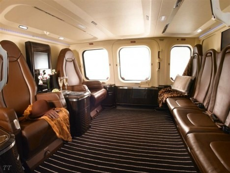 Agusta and Pininfarina x Luxury Helicopter Interior T O P - T I E R