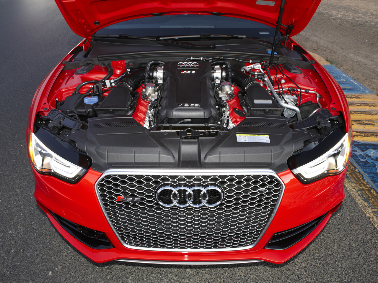 Audi RS5 Coupe US-spec '2012
