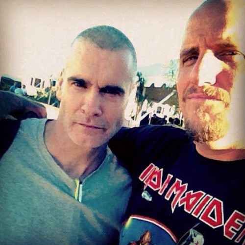You're never to old to have heroes!!! #rollins #fyf  (Taken with Instagram)