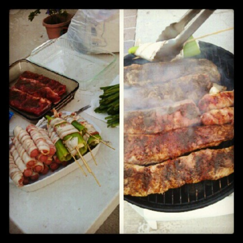 Three day weekend done right #bbq #food #noms #foodbeast (Taken with Instagram)