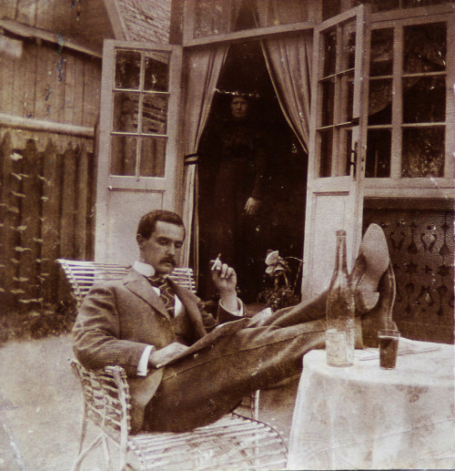collective-history:  A Russian man at leisure ca. 1900s