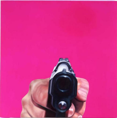 James Rosenquist, Pink Condition, 1996.