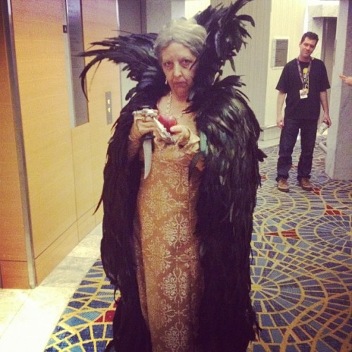 The evil queen from the new Snow White. #dragoncon #dragoncon2012  (Taken with Instagram at Atlanta)