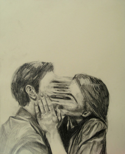 alecshao:  Kelly Monson - Deformities: Suction (2011) - graphite and ink