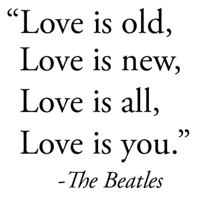 Love is all, love is you | CourtesyFOLLOW BEST LOVE QUOTES ON TUMBLR  FOR MORE LOVE QUOTES