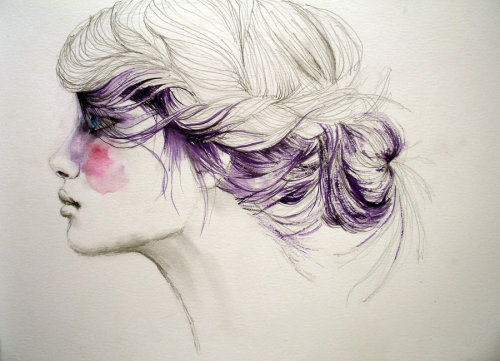 purple by ~thecatspaw/Sarah Bochaton