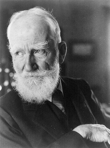 "A razor company once invited George Bernard Shaw to shave his famous beard. He responded with a postcard: Gentlemen: I shall never shave, for the same reason that I started a beard, and for the reason my father started his. I remember standing at his side, when I was five, while he was shaving for the last time. ""Father,"" I asked, ""Why do you shave?"" He stood there for a full minute and finally looked down at me. ""Why the hell do I?"" he said. – GBS"
