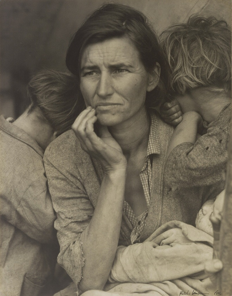 Migrant Mother, 1936, Dorothea Lange. The J. Paul Getty Museum