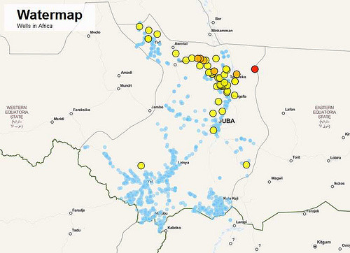 (via Geo-locating wells in South Sudan: how to wrangle data for development | School of Data - Learn how to find, process, analyze and visualize data)