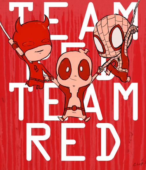 chopsueytime:  Team Red….Red Team….Whatevah!