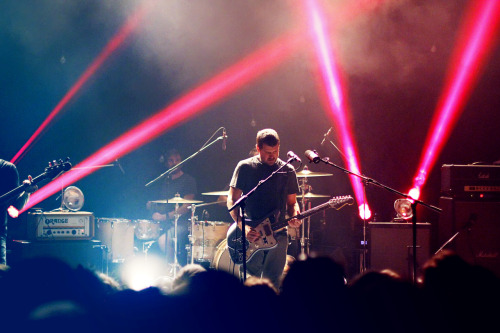 Jesse Lacey of Brand New @ in Winnipeg, MB on 8/7/12