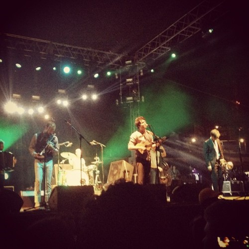 planetickets:  Beirut ❤ (Taken with Instagram at 2012 FYF Festival)