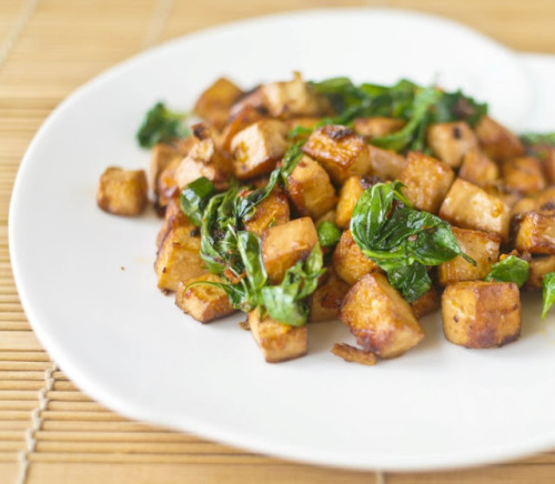 veganrecipecollection:  (via Thai Basil Tofu | Hot from my oven)