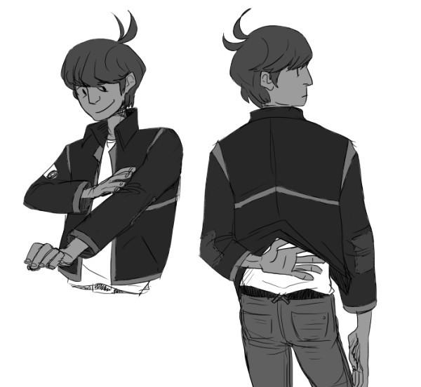 soywhale:  I really like mike's jacket. hope it's leather..